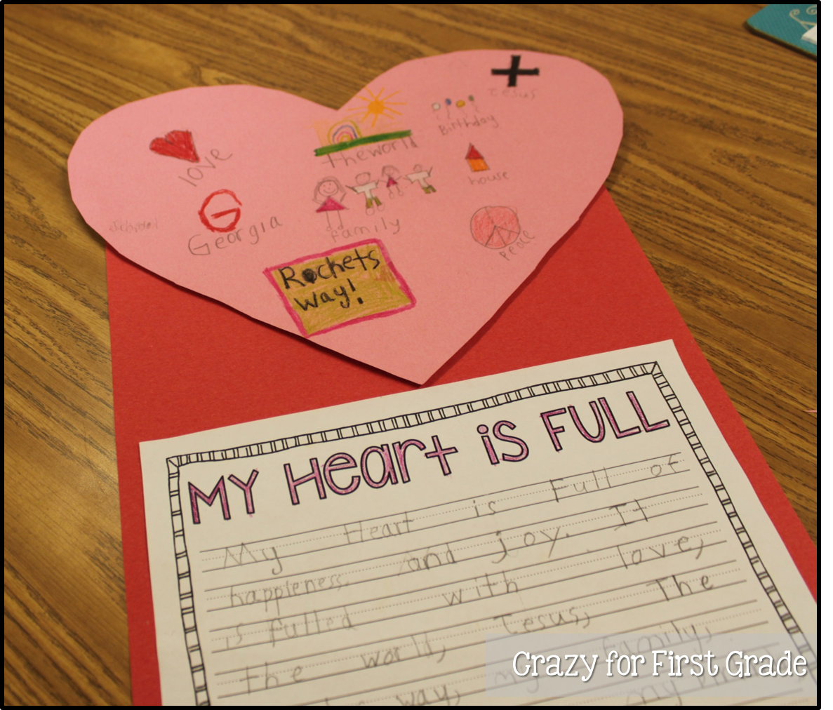 Writing Activity 1st Grade
