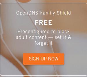 OpenDns filtre a internet