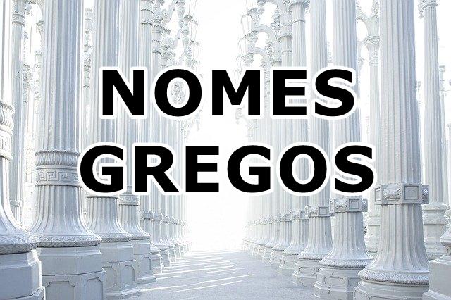 nomes gregos novo testamento