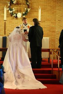Jamie and John wedding April 21 2007