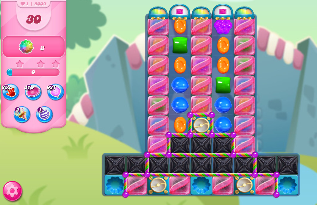 Candy Crush Saga level 8009