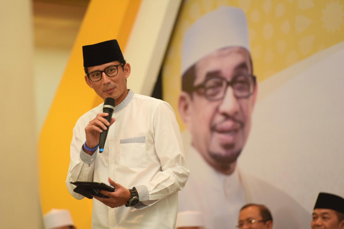 Sandi Pernah Bilang Wagub DKI Jatah PKS, Kini: Solid Menangkan Gerindra!