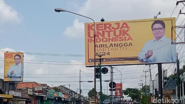 Tak Cuma Puan Maharani, Baliho AHY-Airlangga Juga Mejeng di Klaten