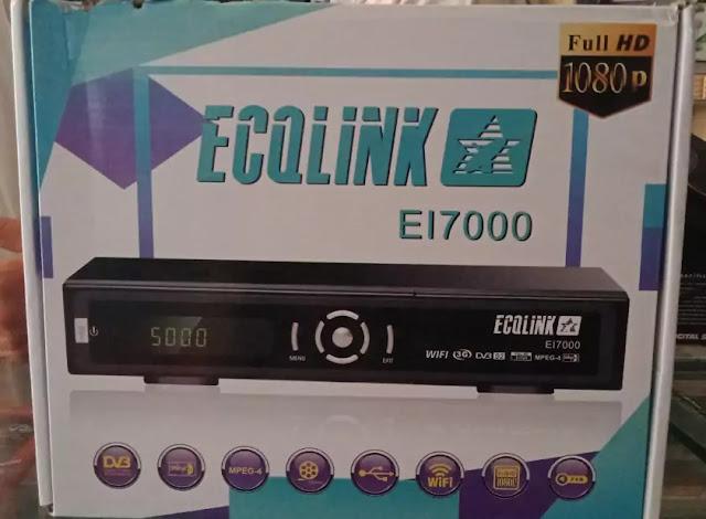 ECQLINK EI7000 1506G SIM TYPE HD RECEIVER FLASH FILE
