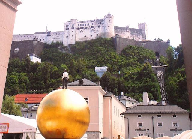 Salzburg - medelstidsborgen Hohensalzburg