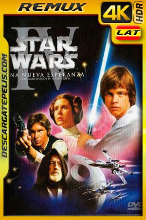 Star Wars: episodio IV una nueva esperanza (1977) 4k BDRemux HDR  Latino – Ingles