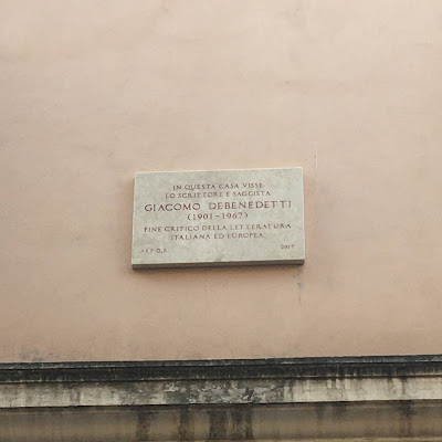 Giacomo Debenedetti Governo Vecchio