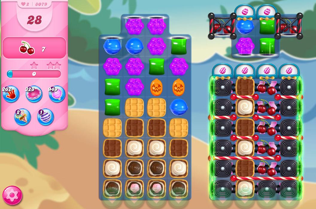 Candy Crush Saga level 8079