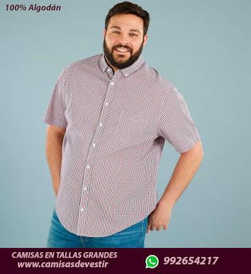 Camisas tallas grandes Pasco