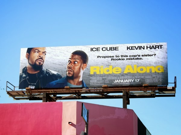 Ride Along movie billboard