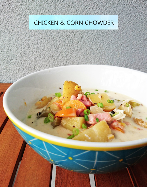 sweetly, mel: Chicken and Corn Chowder