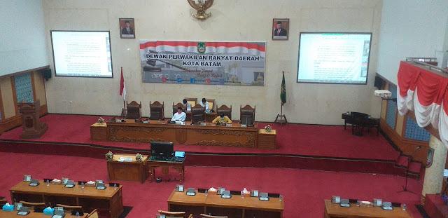 Pansus Ranperda RPJMD Kota Batam dan Bapemperda Kota Batam Ajukan Perubahan Jadwal Kunker