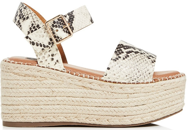 Women's Rowan Leather Espadrille Platform Sandals