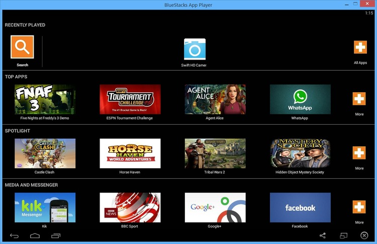 bluestacks download for pc windows xp