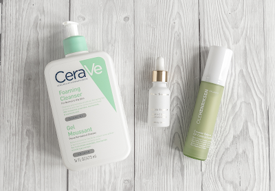 morning skincare routine products