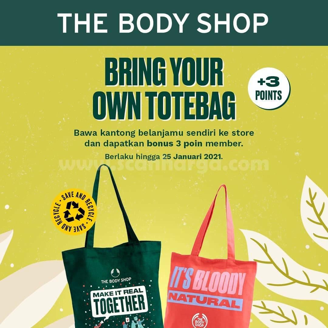 The Body Shop Bawa Kantong Belanjamu! Dapatkan Bonus 3 Poin Member