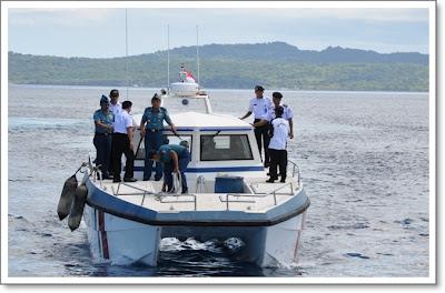 kapal patroli Catamaran