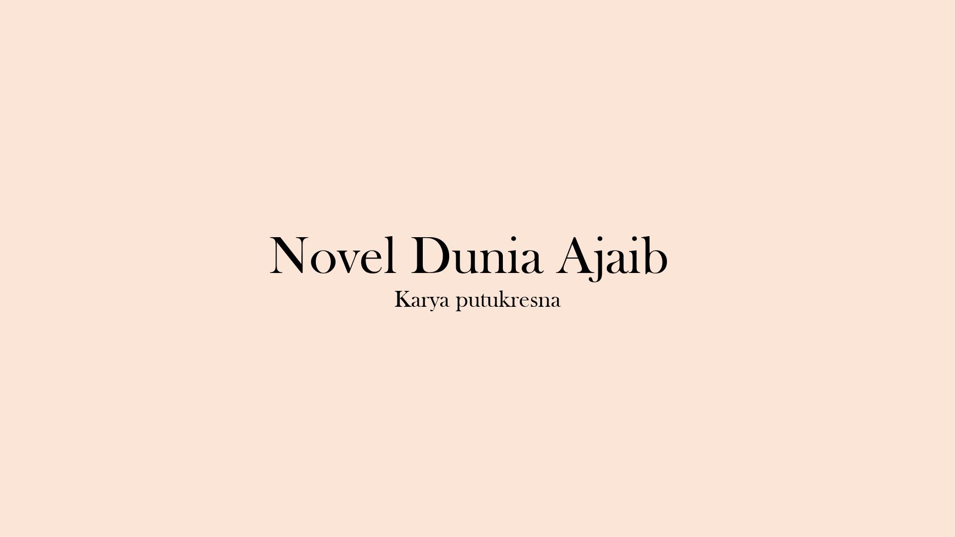 Novel Dunia Ajaib Blokside