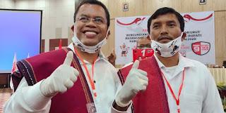 Poltak Sitorus - Tonny M Simanjuntak Unggul Sementara Pilkada Toba