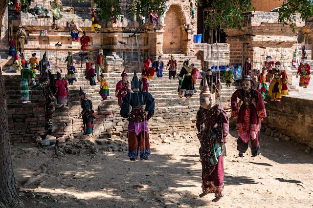 Temple Dhamma-Yan-Gyi - Bagan - Myanmar - Birmanie