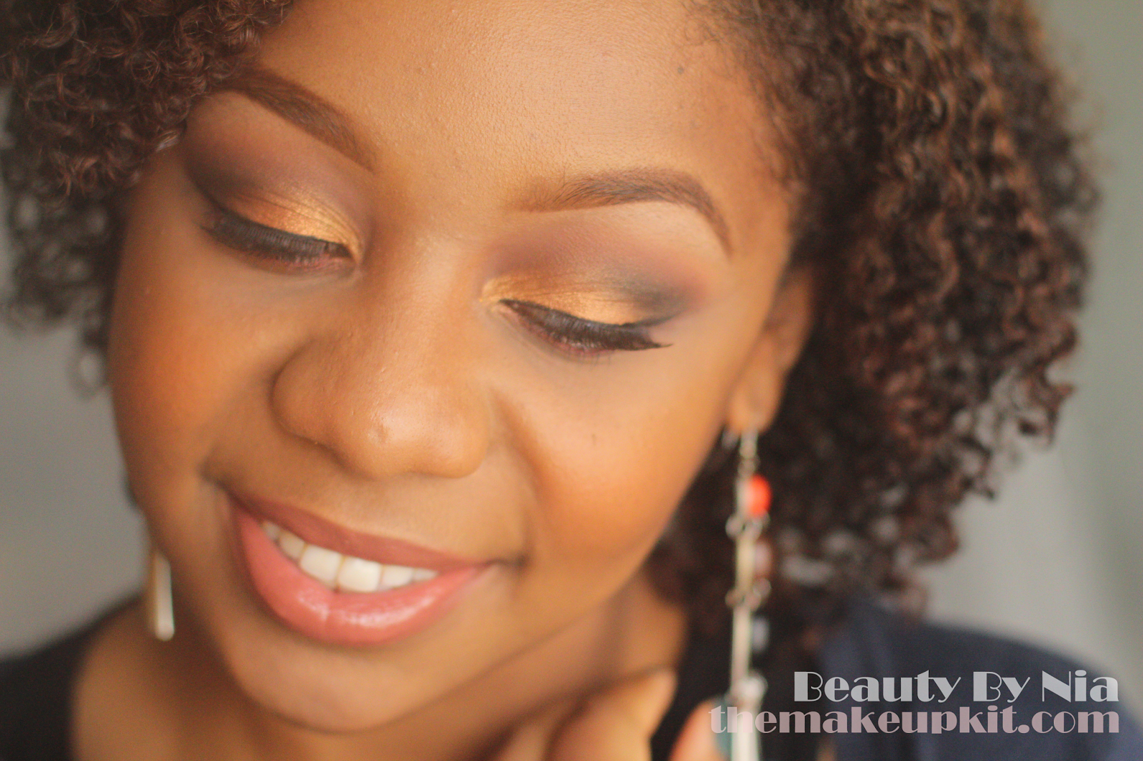 Burnt Orange Smokey Eye MakeUp Look 8