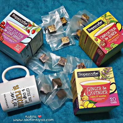 Supercube - Molasses Herbs Drink minuman berasaskan herba untuk kesihatan luaran dan dalaman