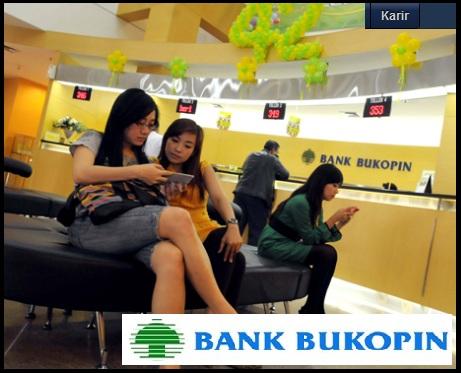 Lowongan D3 bank, Loker Sarjana S1, Info kerja bank, karir Bukopin terbaru