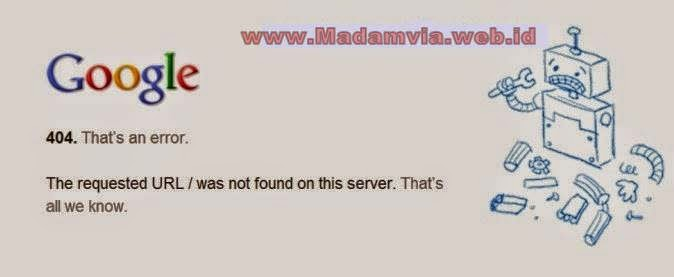 Cara mudah Mengatasi Error 404 Domain Tanpa WWW