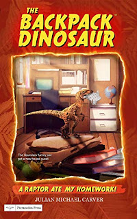 A Raptor Ate My Homework! - a children's book by Julian Michael Carver - book promotion sites