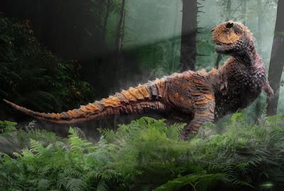 Modelado 3D dinosaurio