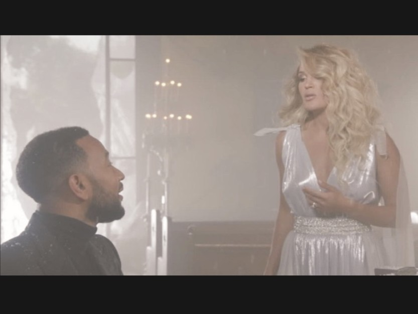 John Legend and Carrie Underwood: Music Duet Performance - Hallelujah (Video Song) - Produced by Greg Wells