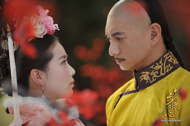 Liu Shi Shi and Nicky Wu in c-drama Scarlet Heart aka Bu Bu Jing Xin