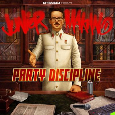 Junior Makhno - Party Discipline - Album Download, Itunes Cover, Official Cover, Album CD Cover Art, Tracklist