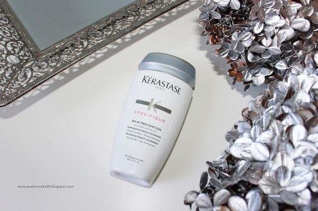 Kérastase Specifique Kąpiel zapobiegająca wypadaniu włosów - skuteczny produkt na wypadanie włosów