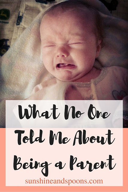 What No One Told Me About Being a Parent