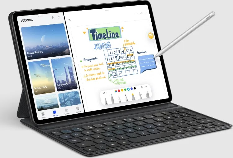 7 Differences between Huawei MatePad 10.4 and Huawei MatePad 11