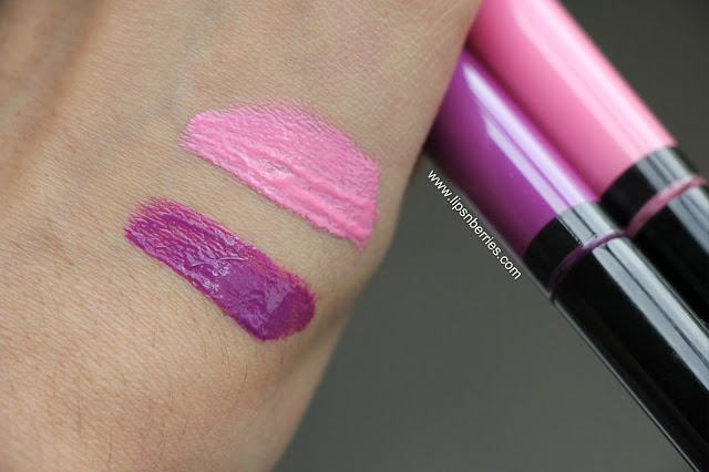 MAC Vamplify Collection Swatches