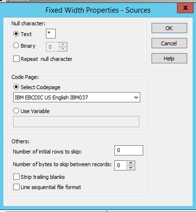 Importing Cobol copy book definition , and reading and