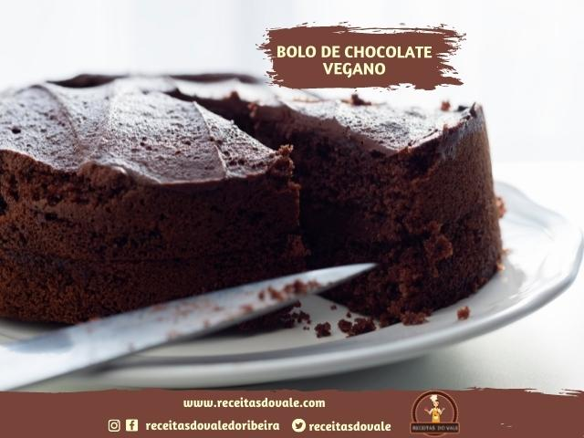 Bolo de Chocolate Vegano