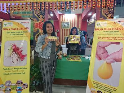 Bungur Farm Hadirkan Telur Sekuntum Herbal di Pekan Raya Lampung 2019