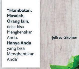 Quotes dari Jeffrey Gitomer dalam Bahasa Inggris dan Artinya 16 Quotes dari Jeffrey Gitomer dalam Bahasa Inggris dan Artinya