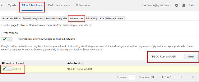 How to find and block low-paying ad networks in google adsense?