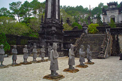 Le tombe imperiali di Hue