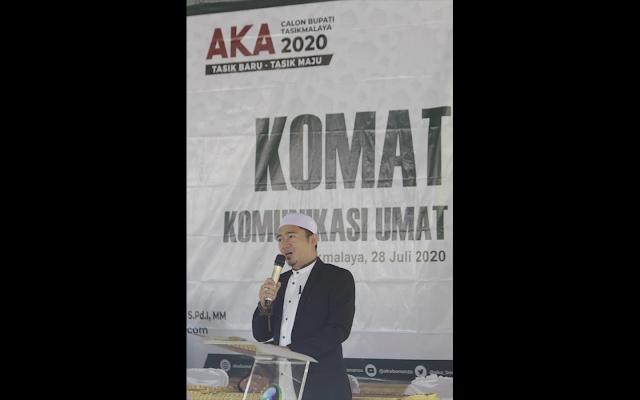 Aka Bonanza Gelar Komunikasi Umat sekaligus Launching Qini Mart
