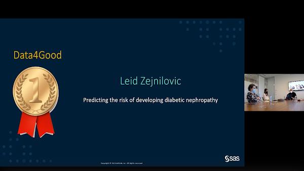 Projeto sobre Nefropatia Diabética da Nova SBE vence prémio científico ibérico na categoria Data4Good