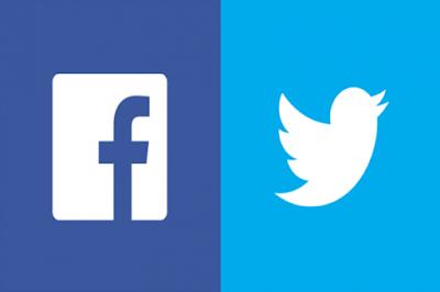 غرامات مالية على فيسبوك وتويتر