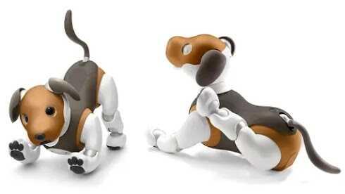 Aibo robot anjing mainan yang cerdas dan lucu
