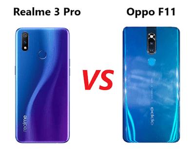 Perbandingan Spesifikasi Realme 3 Pro vs Oppo f11