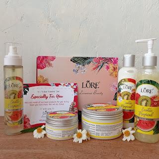 Rangkaian produk Lore Spa Series-Exotic Tropical