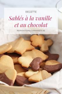 Recette des sables à la vanille et au chocolat